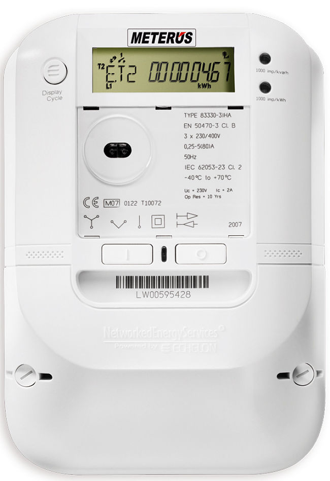 Typical smart meter - learn more about them here
